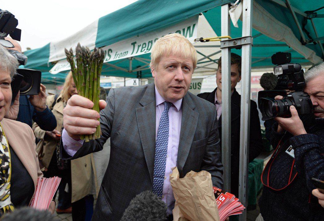 強森(Boris Johnson):前倫敦市長,現為脫歐陣營最佳代言人。 圖/歐...