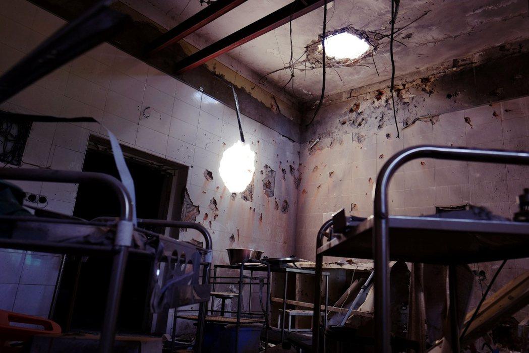 遇襲半年後,如今的阿富汗昆都茲醫院。 圖/路透社