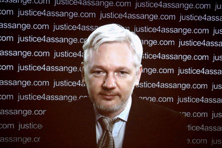 維基解密創辦人Julian Paul Assange。 圖/路透社
