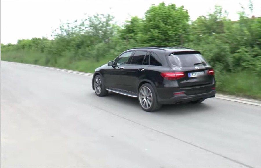 這輛GLC63最快明年會與世人見面,競爭對手會是BMW X3M以及Audi SQ...