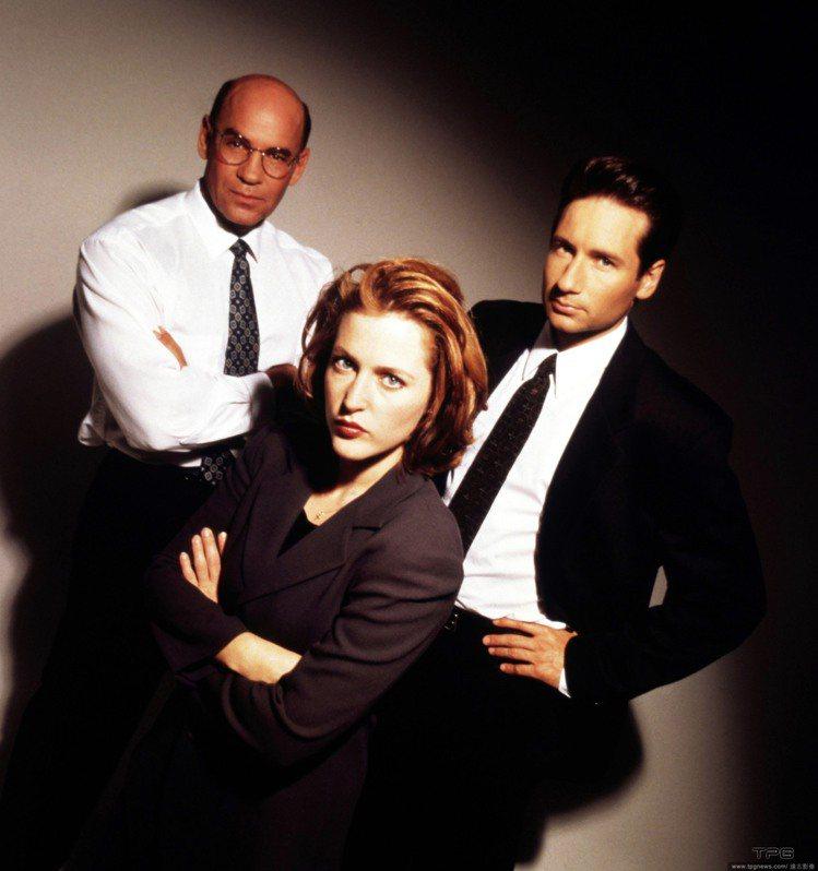 吉蓮安德森演出知名影集《X檔案》女幹員而走紅。圖/達志影像