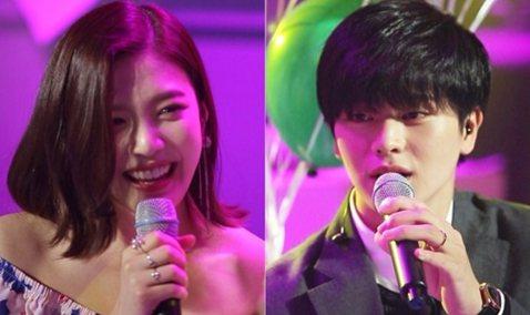 今日,韓國MBC TV綜藝節目《我們結婚了4》公開了即將離開節目的BTOB成員陸星材和Red Velvet成員Joy最後演唱會的現場照片。錄製時,Joy和陸星材分別選曲了表達自己心意的歌,帶來了專屬...