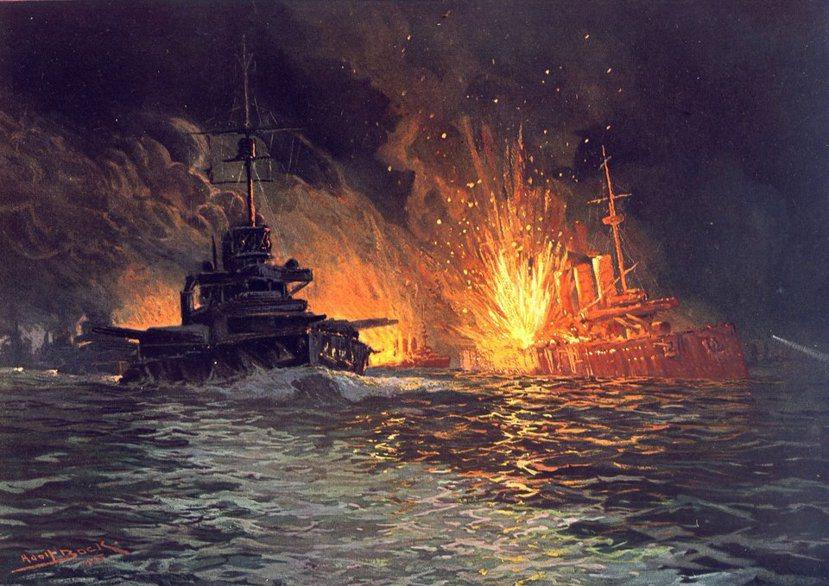 日德蘭海戰中的英國皇家海軍「黑王子號」裝甲巡洋艦(HMS Black Princ...