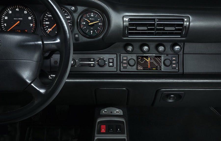 即使是初代的911仍能安裝這套系統。 Porsche提供
