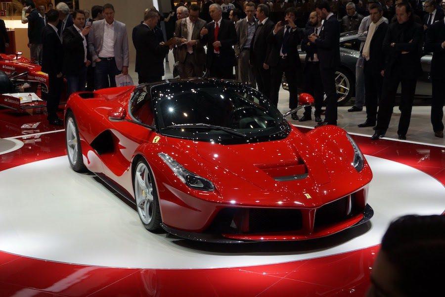 Ferrari CEO證實現任馬王LaFerrari會出現Spider敞蓬版本。 摘自Carscoops.com