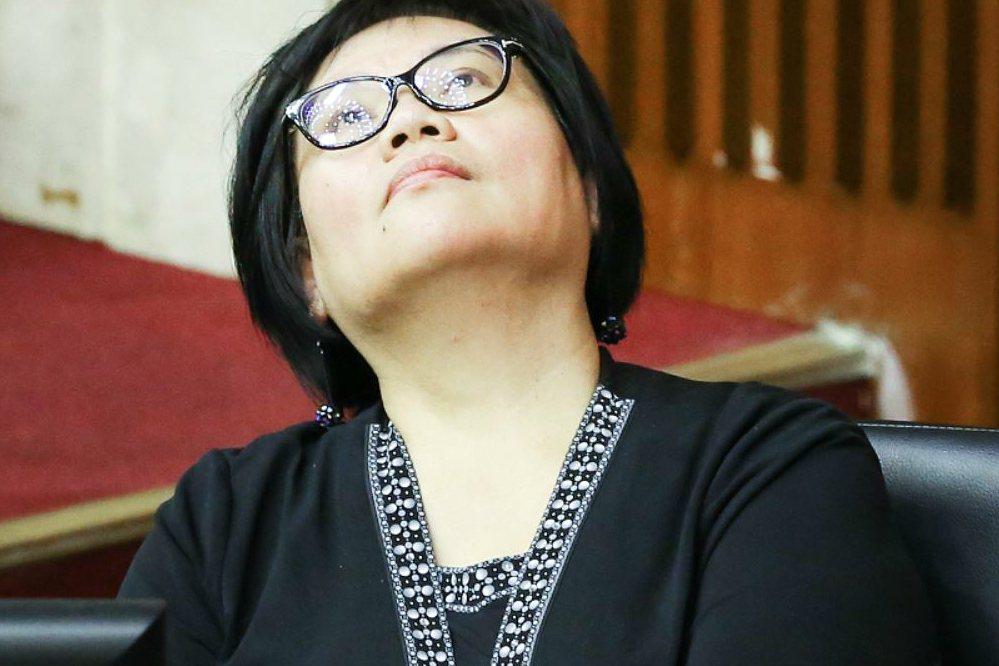 原民會主委陳秀惠在質詢時以族語表達意見,遭要求公開致歉。 圖/聯合報系