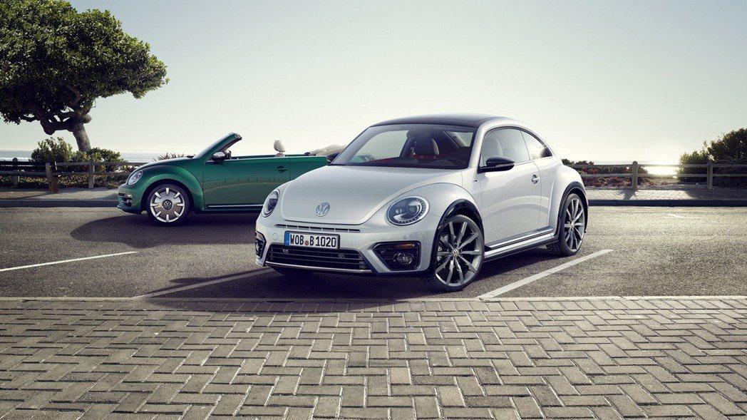 新年式VW Beetle整體外觀變動不大,原廠設計師僅針對細節部分進行修飾。 摘自Volkswagen