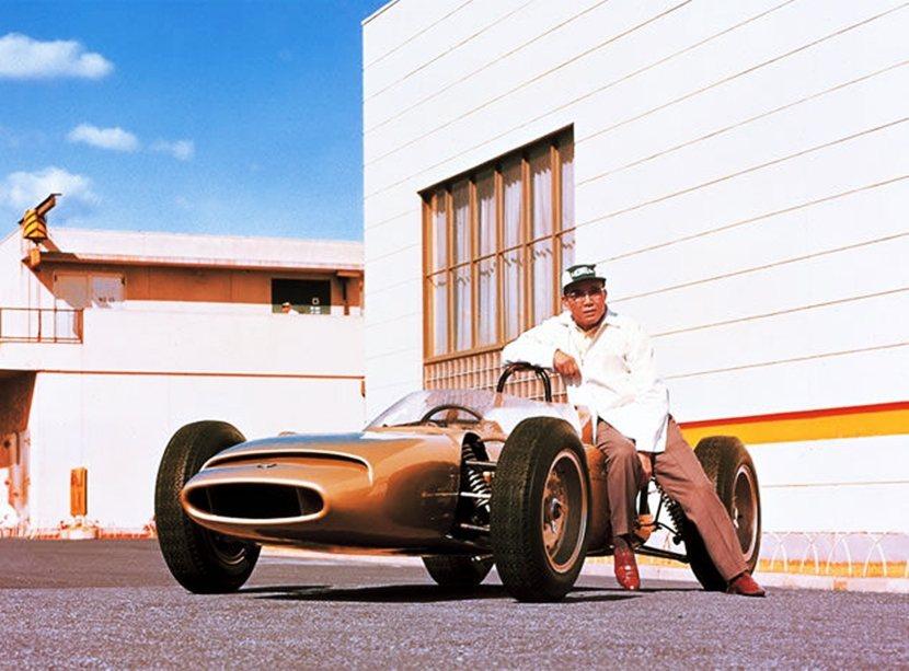 宗一郎與F1一級方程式賽車的緣份。 圖/本田汽車官網