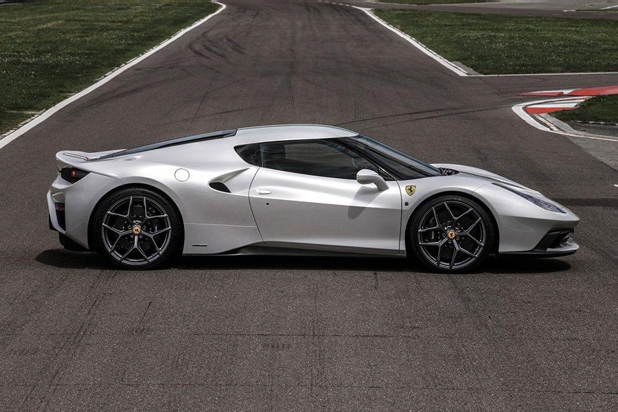 Ferrari 458 MM Speciale搭載了與 458 Speciale超跑相同的底盤平台、動力以及傳動系統。 Ferrari提供