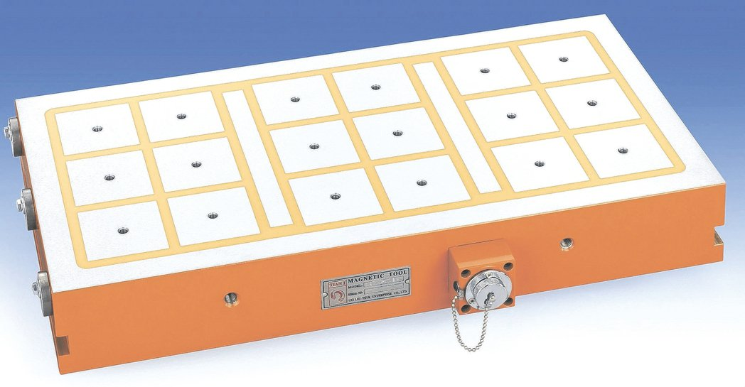 威力磁永久電磁盤吸力更強,可有效避免工件加工時震動所產生的精度誤差。 威力磁公司...