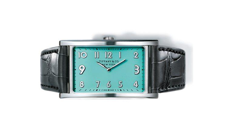 best website d7366 5507f Tiffany優雅藍腕表改變時間的「角度」 | 腕錶時計| 珠寶鐘表 ...