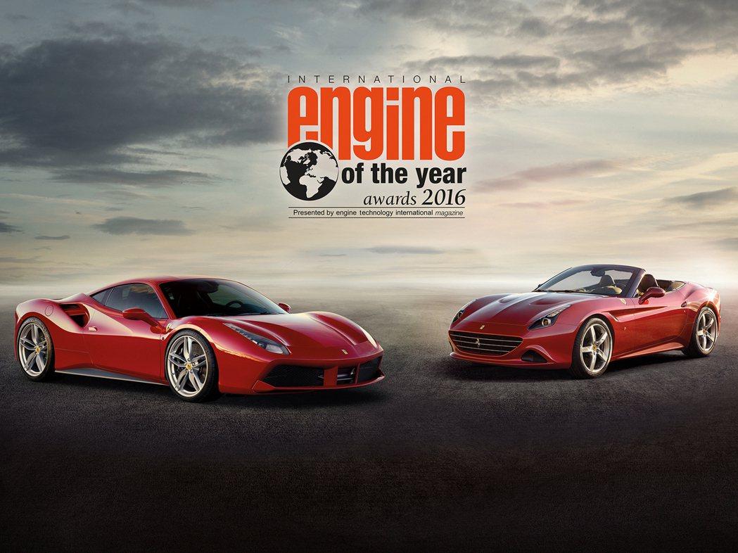 今年由搭載在Ferrari 488 GTB上的3.9L V8雙渦輪增壓引擎奪下年度最佳引擎。 摘自carscoops.com