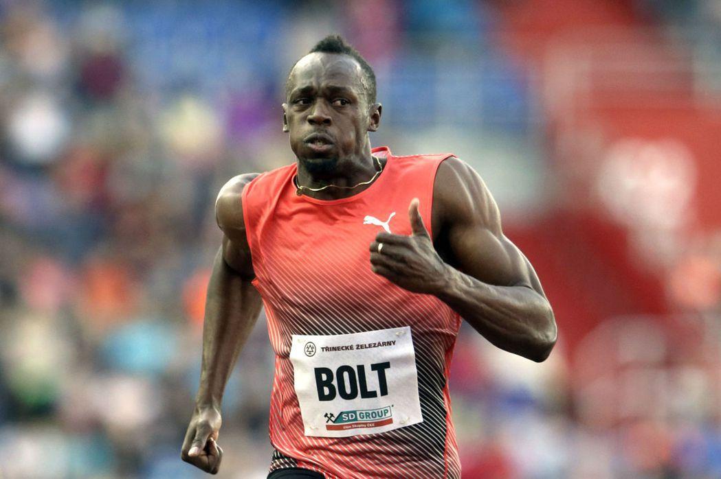 牙買加田徑選手波特(Usain Bolt)。 圖/美聯社