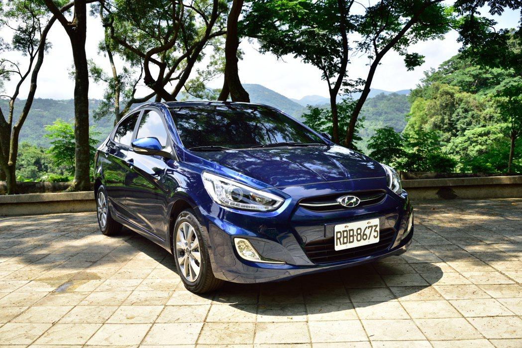 Hyundai Verna。 記者彭奕翔/攝影