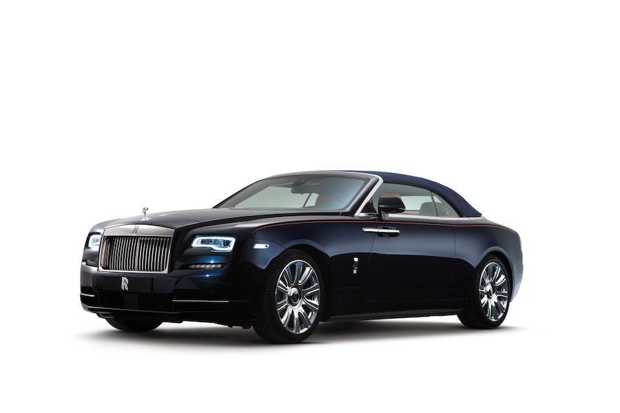 Rolls-Royce發表全新雙門四座敞篷跑車Dawn。 Rolls-Royc...