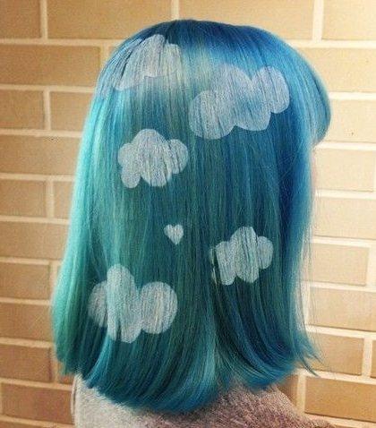 將雲朵搬到頭髮上是不是許多少女們的夢想啊,這不實現了嗎!圖文:悅己網
