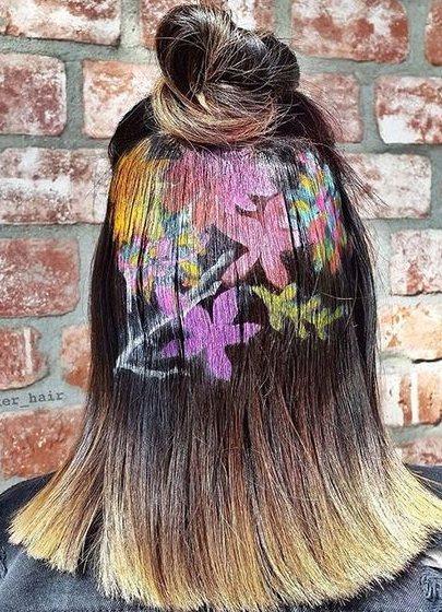 很多女生都喜歡花朵之類極富詩情畫意的圖案,那麽愛時尚的靓粉們就趕緊紮起流行的半丸...