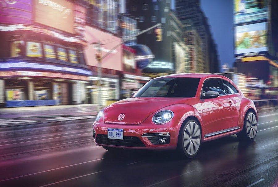 Volkswagen推出粉紅色的#PinkBeetle。 Volkswagen提供