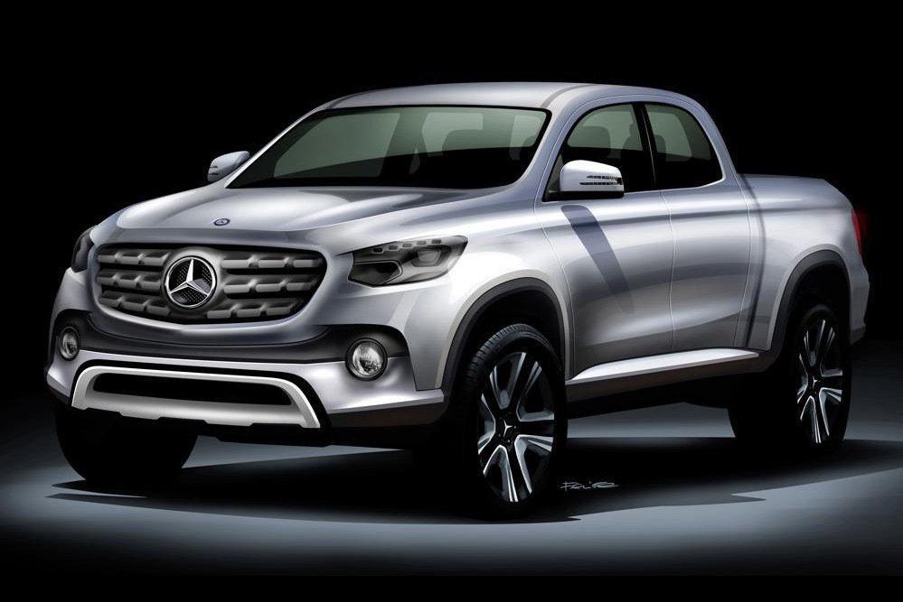M.Benz決定推出一款暫時命名名為X-Class的Pick-up車型。 摘自M...