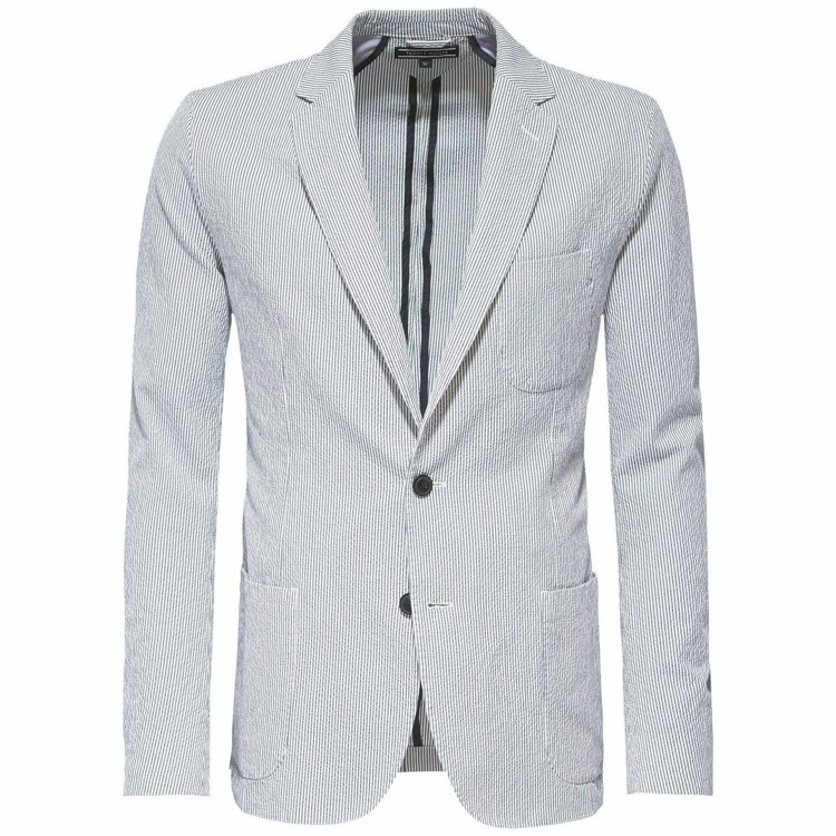 Tommy Hilfiger直條紋獵裝外套,15800元。 圖/Tommy Hi...