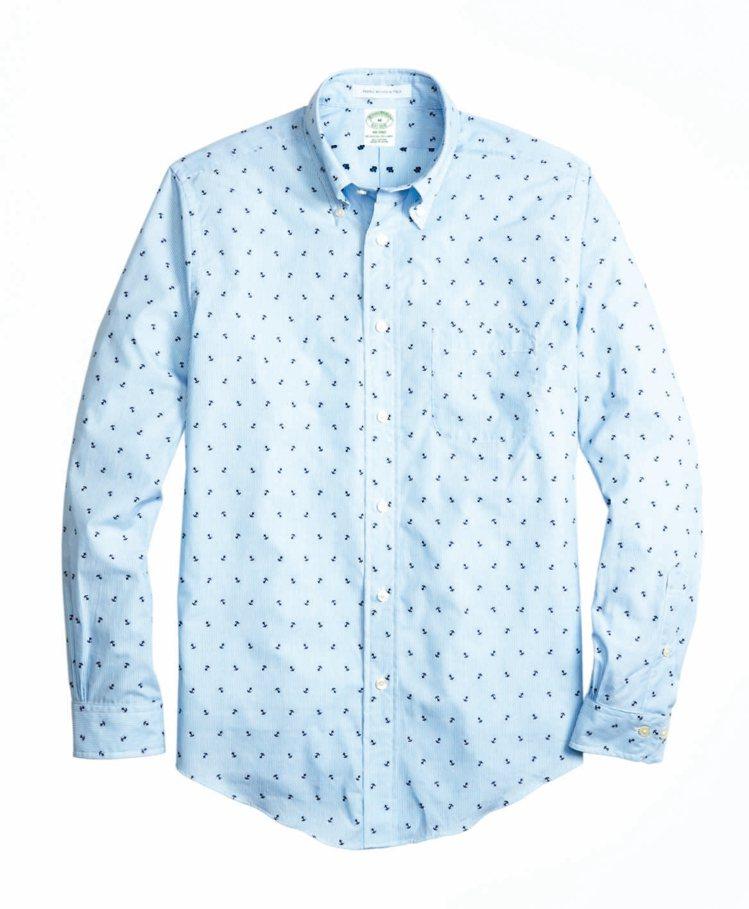 Brooks Brothers船矛圖案襯衫,5560元。 圖/Brooks Br...