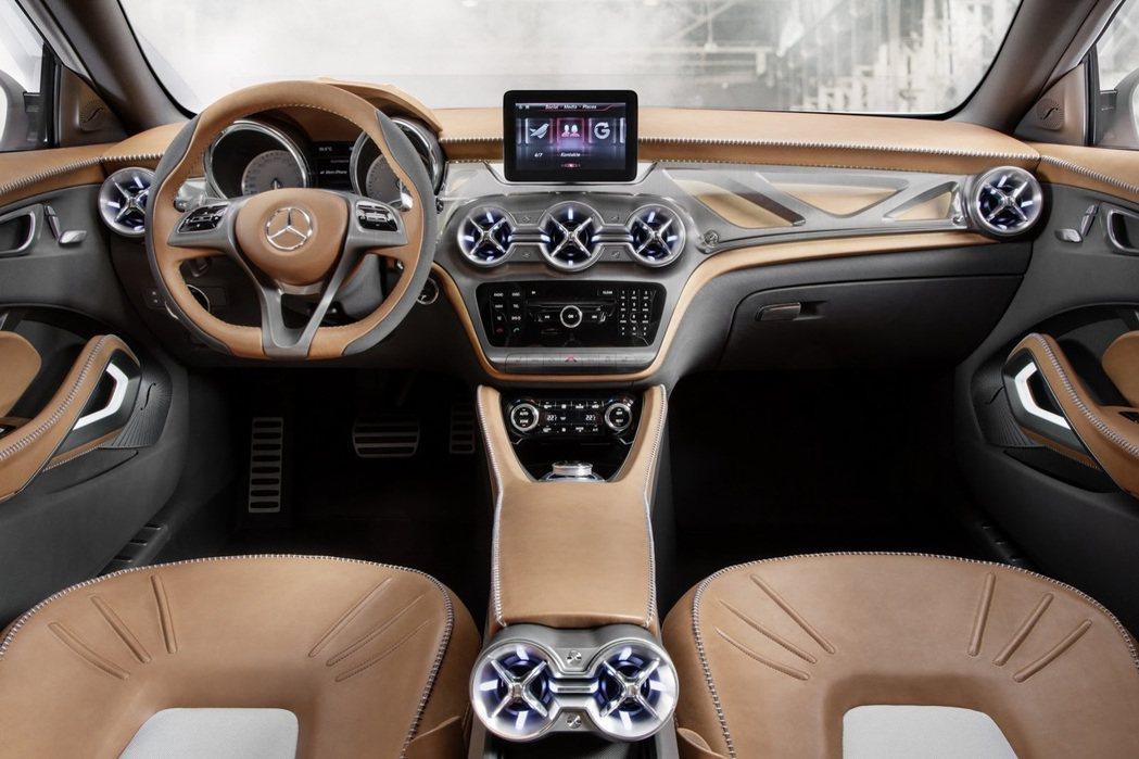 內裝也將比照B-Class風格進行改造。 摘自carscoops.com