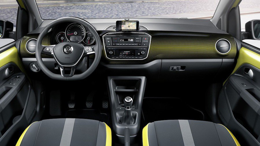 Up! GTI在外觀內裝上都會有一定程度的更動。(圖為現行Up!) Volkswagen提供