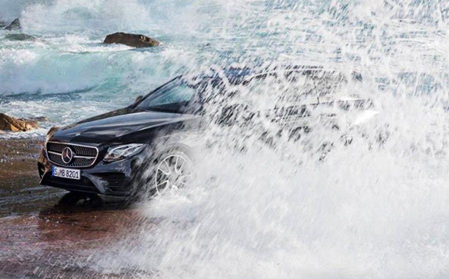 Mercedes-Benz賓士汽車搶先用影片公佈了全新2017年式 E-Clas...