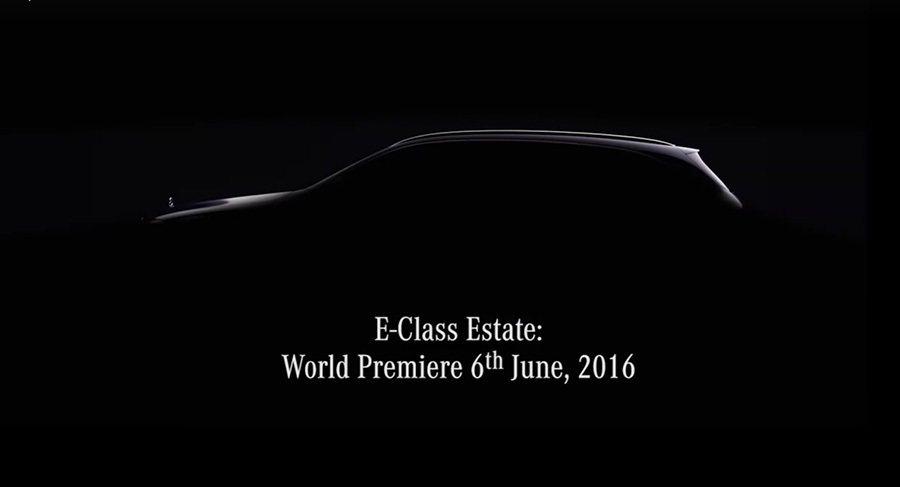 全新2017年式 E-Class Estate旅行車將於網路發表。 Merced...