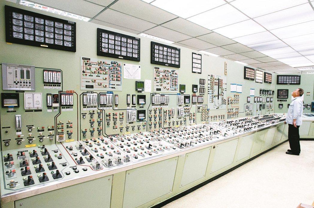 核電廠即將陸續停止運轉,仍有至少四項工作需要核工專業的長期參與。 本報資料照片