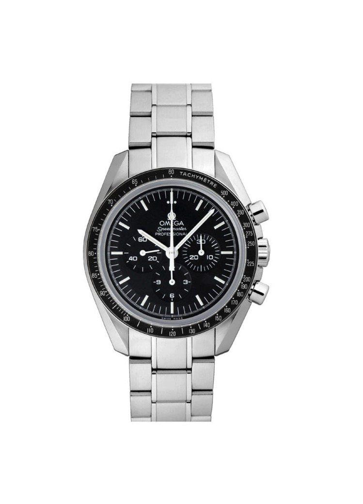 OMEGA Speedmaster月球表專業系列腕表,18萬3,700元。圖/O...