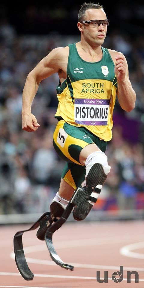 南非著名的名將「刀鋒戰士」皮斯托瑞斯。記者侯永全/攝影