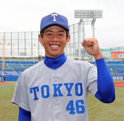 2016年東京大學棒球隊的桐生祥汰,成為該校睽違12年入選東京六大學野球聯盟最佳九人的球員。目前他預計進入大企業,持續面試中。 圖/取自日刊體育報