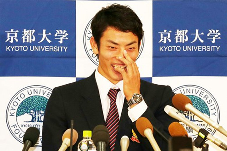 京都大學投手田中英祐,從小會念書棒球也打得好,2014年成為京都大學創校以來首位日本職棒球員。 圖/取自日刊體育報
