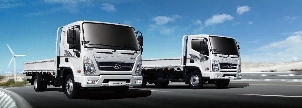 HYUNDAI MIGHTY將導入6.5噸至7.8噸等級。 圖/南陽實業提供