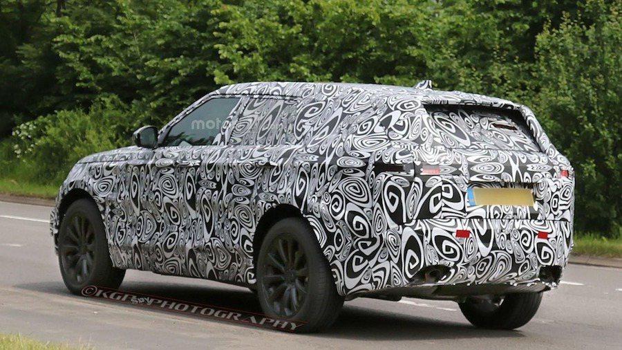 全新Range Rover Sport 預計2017年底發表。 摘自Motor...
