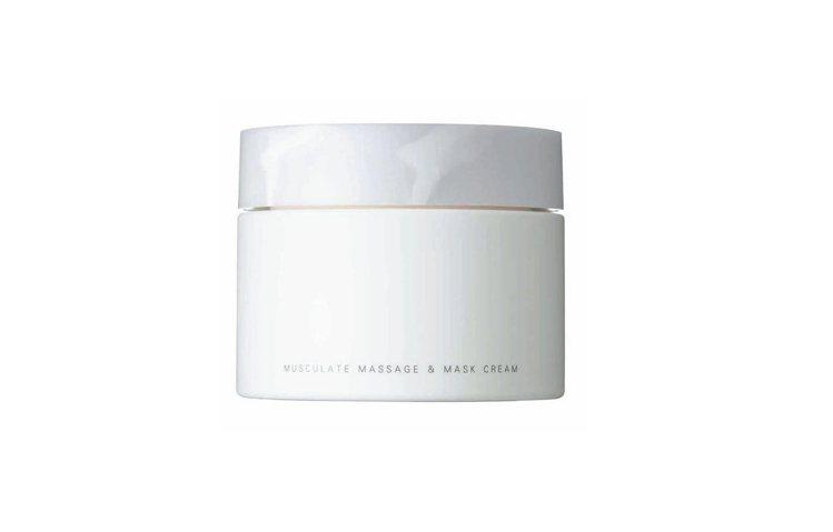 SUQQU顏筋活力晶摩霜,可作為按摩霜或面膜使用,搭配獨特的按摩手法,維持肌膚彈...