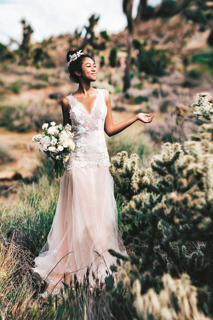 訂製婚紗最近很流行,可依照新娘的喜愛或婚禮主題訂製婚紗。 圖/MS IDEAS提...