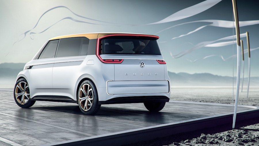 未來由MEB電動車平台所打造的產品將會有六款之多。 (圖為BUDD-E) Volkswagen提供