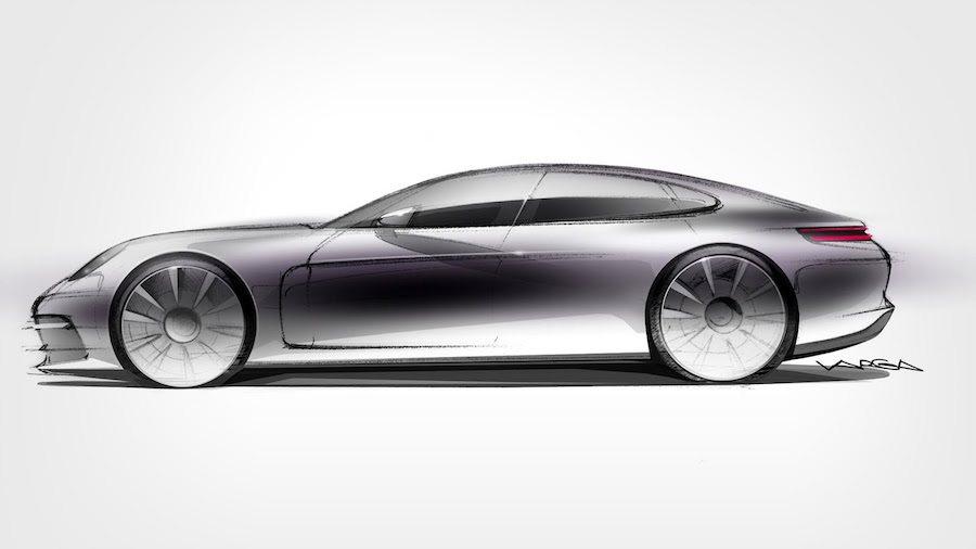 全新一代Porsche Panamera將於本月底發表。 Porsche提供