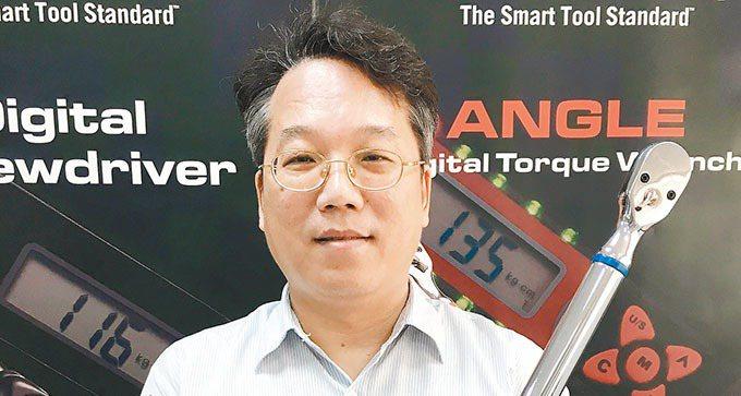 數泓科技總經理李明華 記者宋健生/攝影