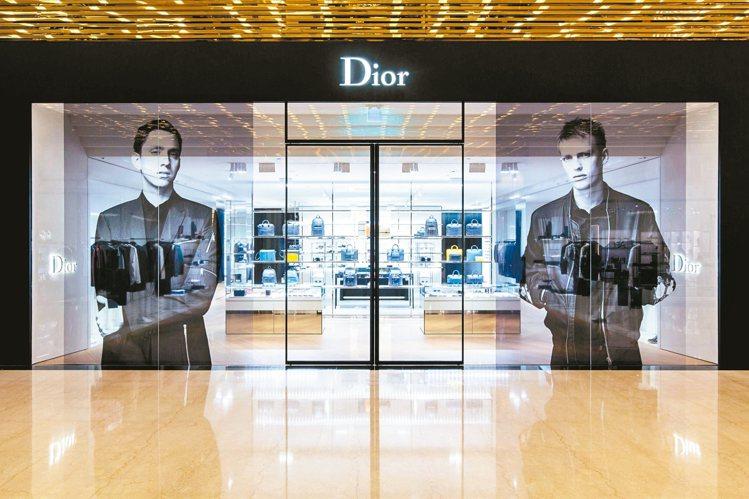 Dior Homme首度在台灣打造獨立專賣店。 圖/Dior提供