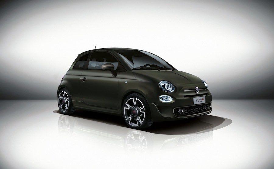 Fiat推出具運動化風格的500s小車。 Fiat提供
