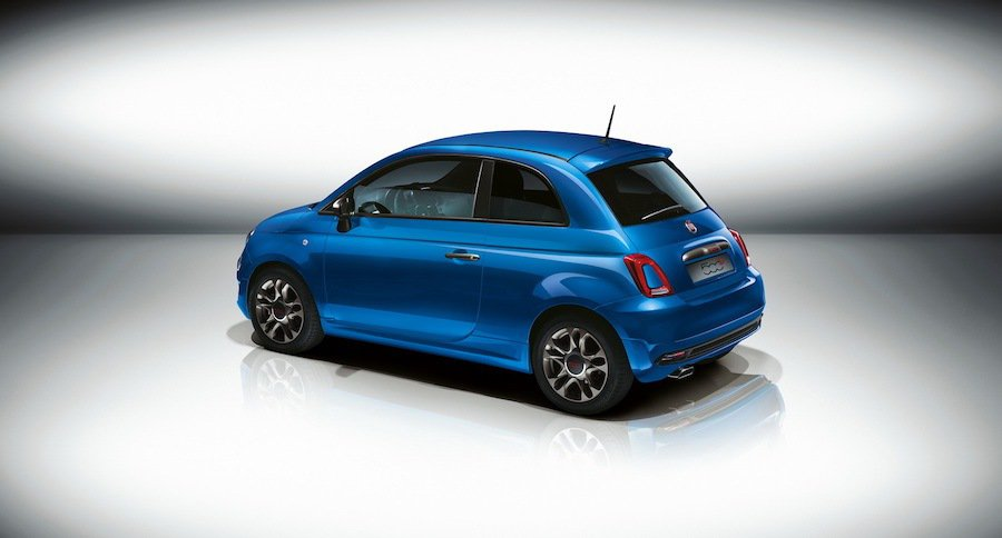 金屬藍與消光綠是這次500S的專屬車色。 Fiat提供