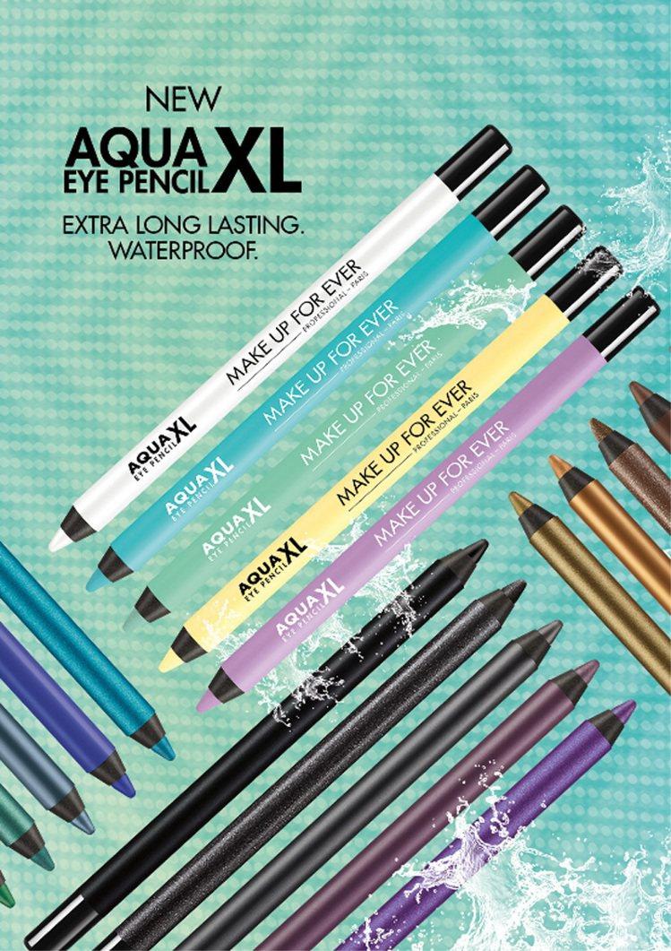 MAKE UP FOR EVER AQUA XL超持久眼線筆,售價850元。圖/...