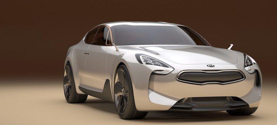 KIA打算在明年於澳洲推出後驅轎跑。 (圖為KIA GT) KIA提供