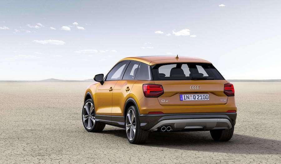 雙性能版本的Q2要到2018年才有機會問世。 Audi提供