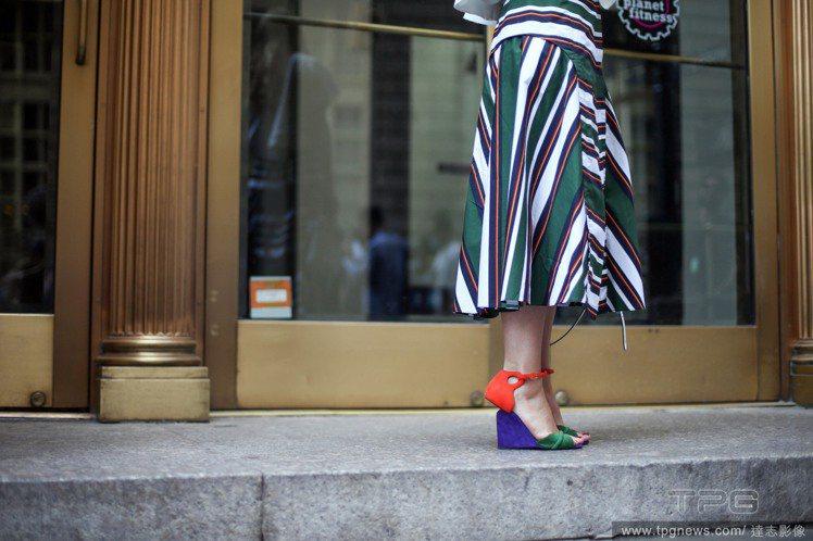 2016春夏,很多品牌推出了用色繽紛、設計花俏的涼鞋。想來一場腳上的嘉年華?看看...