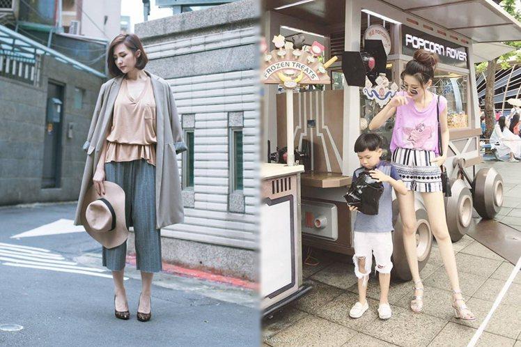 細數年輕媽咪最愛看的2位時尚部落客!圖/擷自荔枝兒 Liz、Chiao粉絲專頁