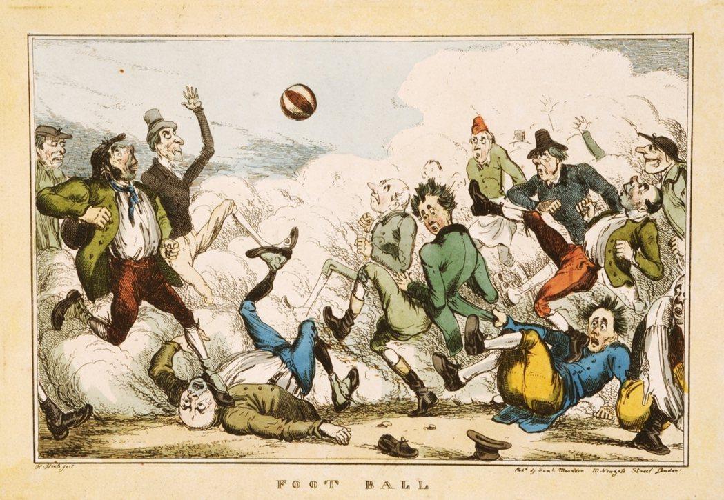 「如果這就是他們所謂的『足球』,那他們的『鬥毆』還能是什麼?」19世紀的英國足球...
